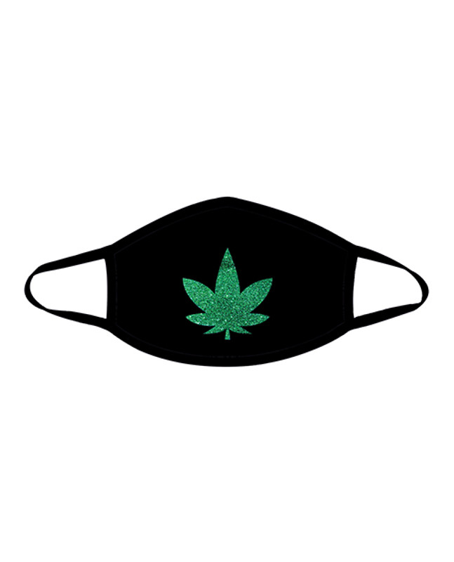 Neva Nude Weed Mask With 100% Cotton Liner Black Md