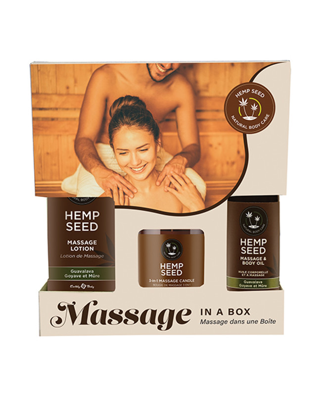 Earthly Body Earthly Body Massage In A Box Gift Set - Guavalava