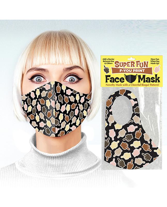 Super Fun F - You Print Mask