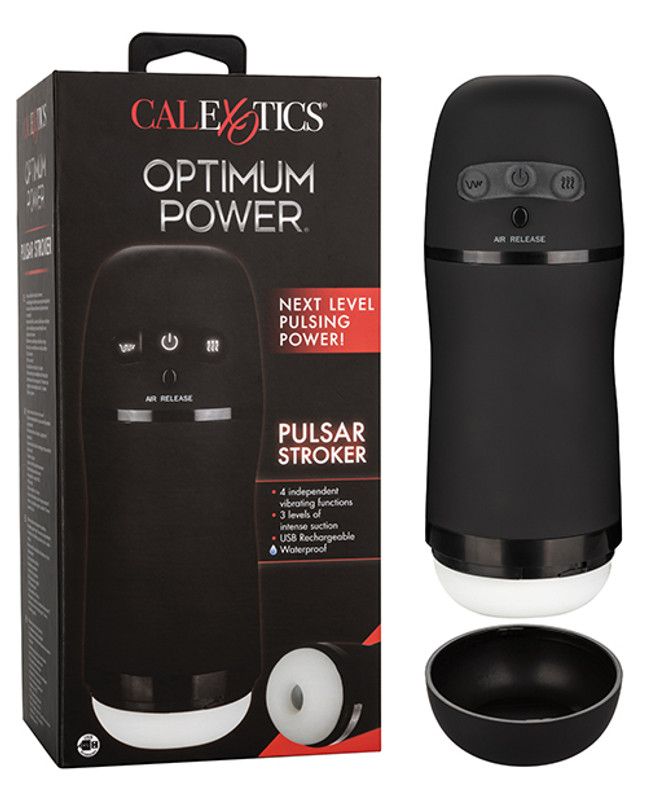 CalExotics Optimum Power Pulsar  Male Masturbator Stroker