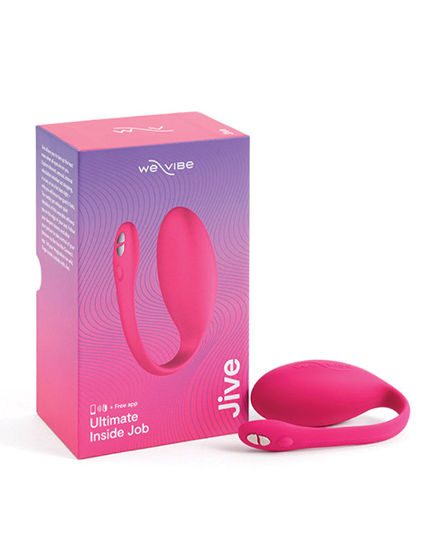 We-Vibe Jive G-Spot Couple's Vibrator - Electric Pink