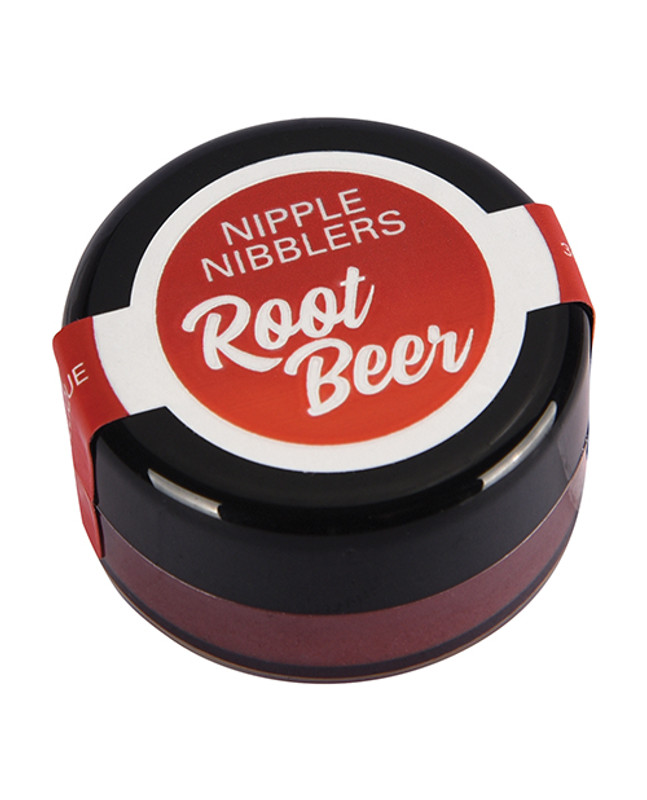 Jelique Nipple Nibbler Cool Tingle Flavored Arousal Balm - 3 G Root Beer