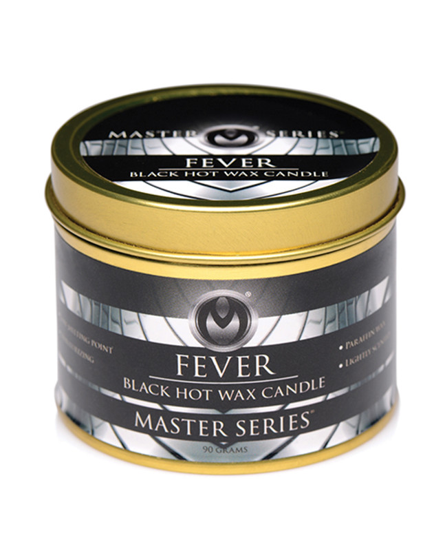 XR Master Series Fever Drip Romantic Candle - Black
