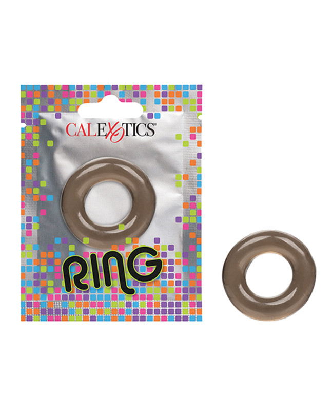 Foil Pack Ring - Pack Of 24 Smoke