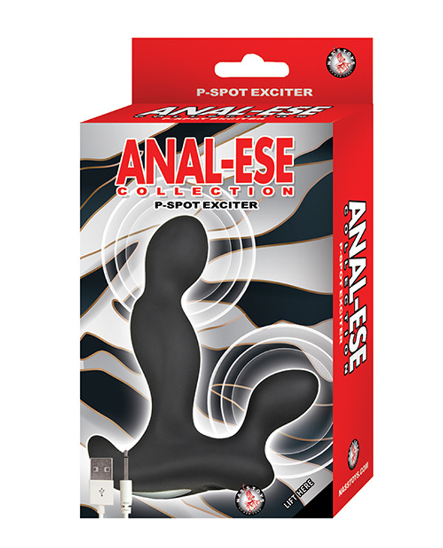 Anal-ese Collection P-spot Exciter - Black
