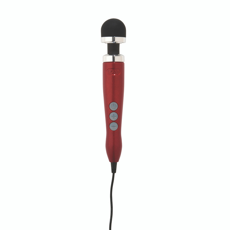 Doxy Number Three 3 Wand Massager - Vibrator - Red