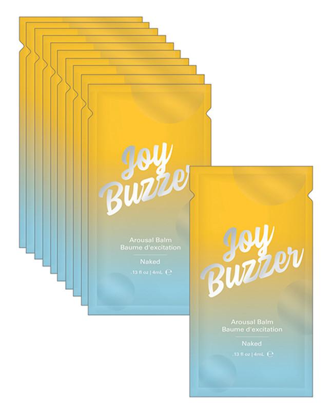 Joy Buzzer Naked Foil - 4 Ml Pack Of 24