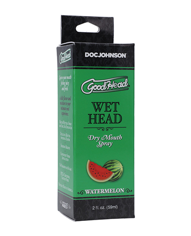 Goodhead Wet Head Dry Mouth Spray - 2 Oz Watermelon