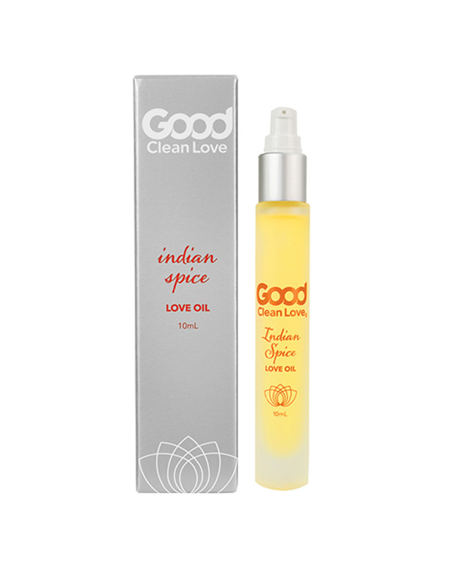 Good Clean Love Indian Spice Love Oil Personal Lubricant - 10 Ml