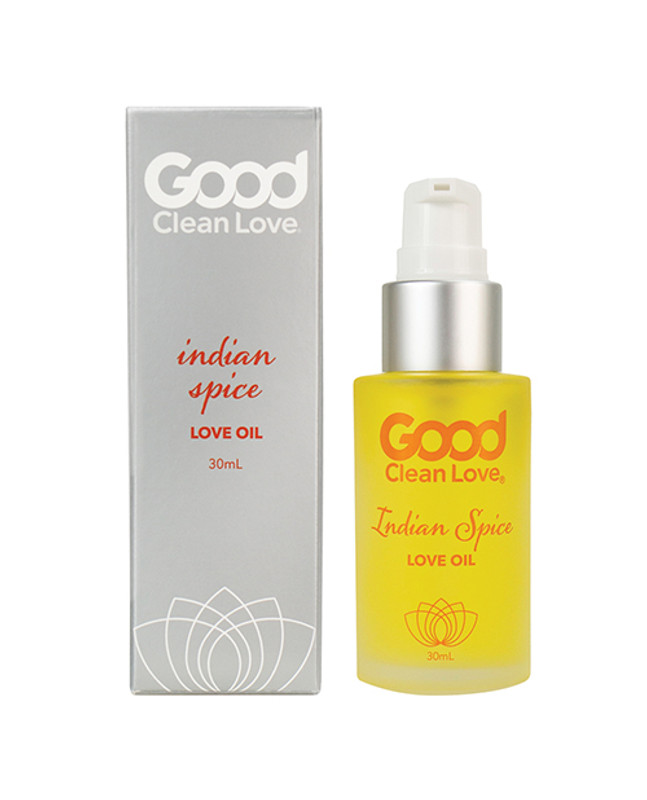 Good Clean Love Indian Spice Love Oil Personal Lubricant - 30 Ml