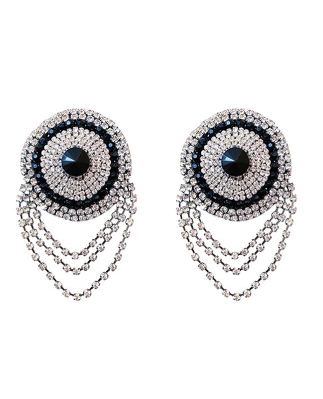 Burlesque La Vie Boheme Jewel Reusable Silicone Nipztix - Crystal O/s