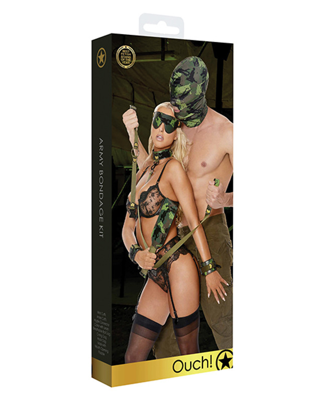 Shots Ouch Army Bondage Kit