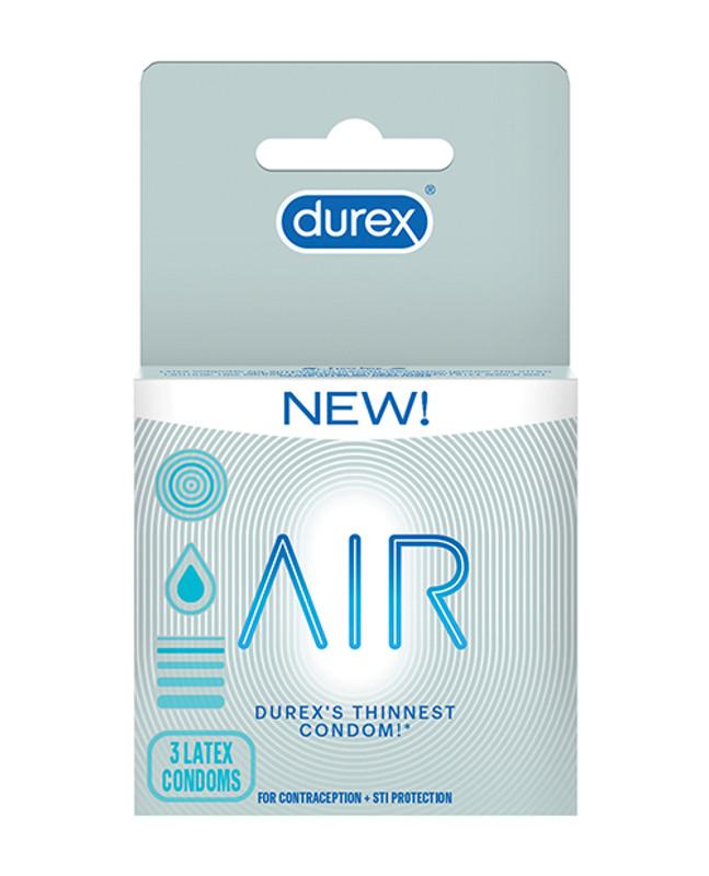 Durex Air Condoms - Pack Of 3