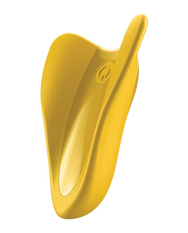 Satisfyer High Fly Finger Vibrator - Yellow