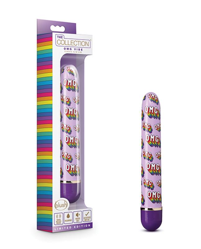 Blush The Collection Omg Classic Slim Vibrator - Purple