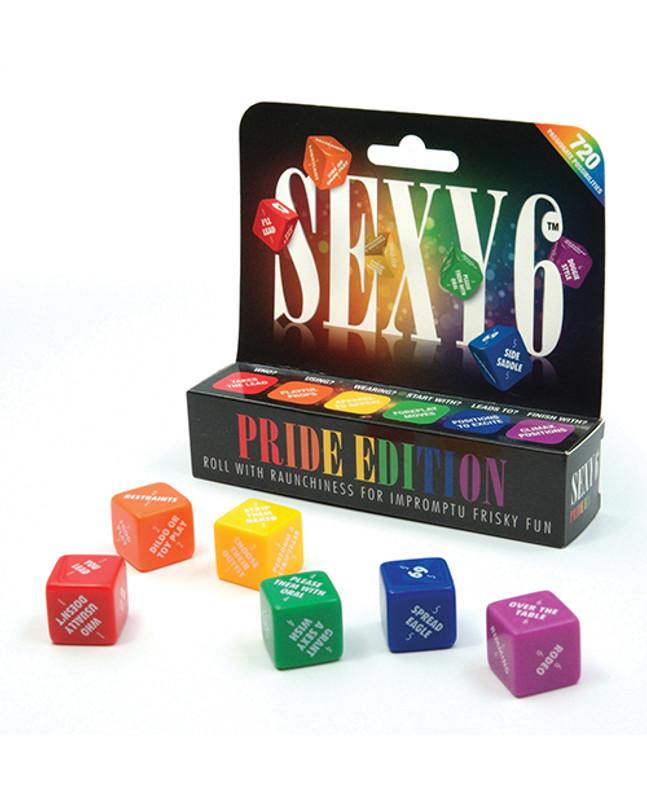 Sexy 6 Dice Game - Pride Edition