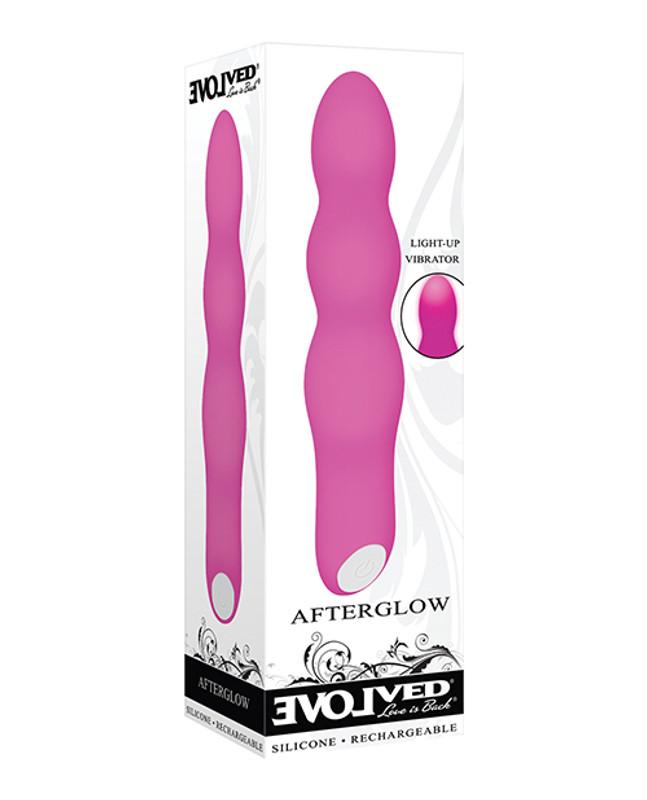 Evolved Afterglow Light Up Vibrator - Pink