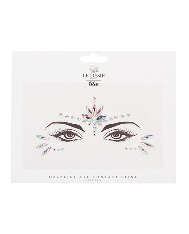 Shots Bliss Dazzling Eye Bling Sticker O/s