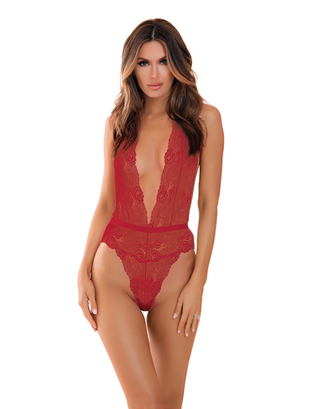 Rene Rofe Plunge In Teddy Red S/m