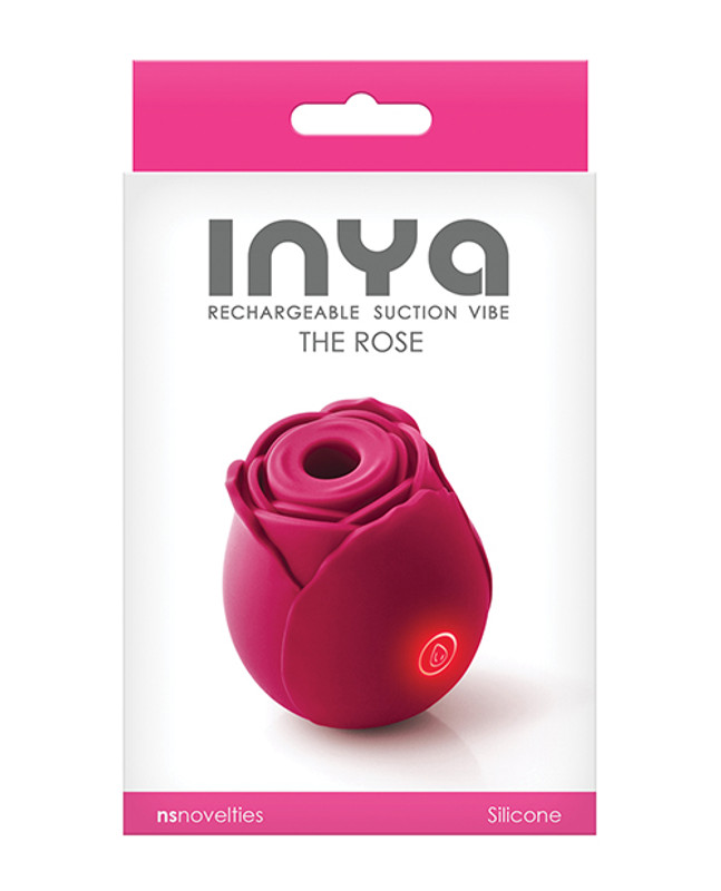 Inya The Rose Rechargeable Suction Vibe - Rose