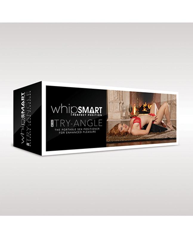 Whip Smart Mini Try-angle Cushion - Black