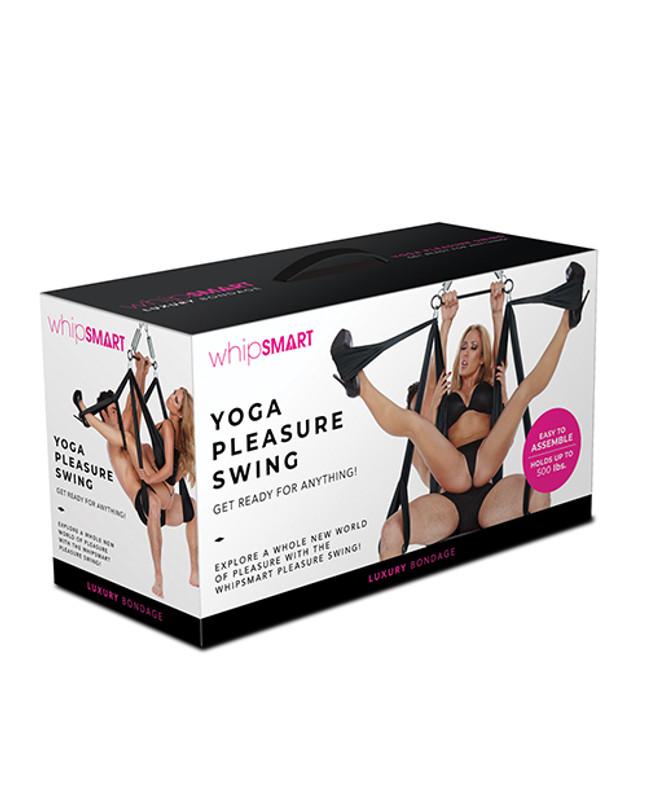 Whip Smart Yoga Pleasure Swing - Black