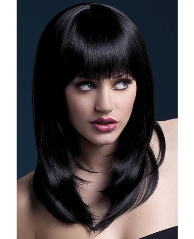 Smiffy The Fever Wig Collection Tanja - Black