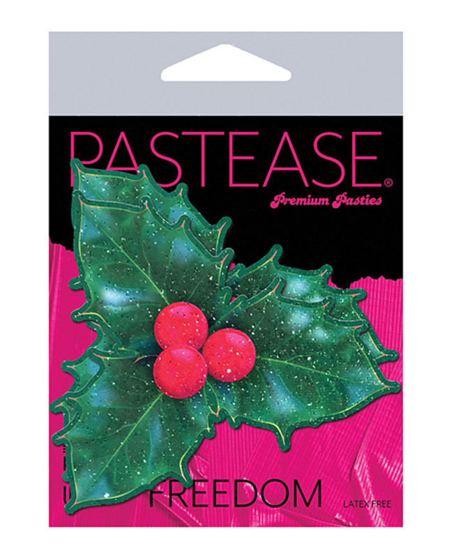 Pastease Holiday Holly - Green O/s