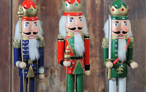 Three Christmas Nutcrackers