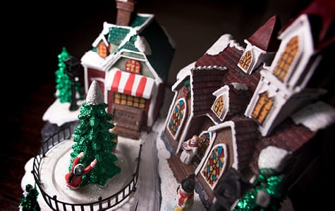 Decorative Christmas Villages