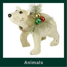 Christmas Animal Decorations