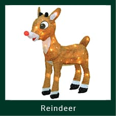 Outdoor Reindeer Decoration