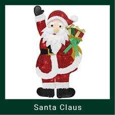 Outdoor Santa Claus Decoration