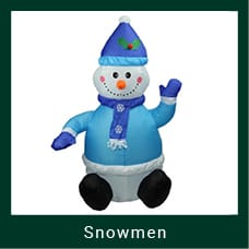 Outdoor Snowman Decoration