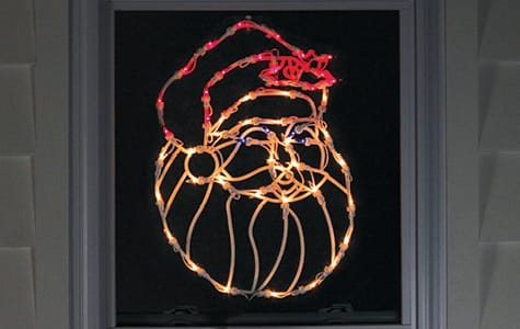 Santa Claus Window Decoration