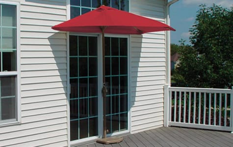 Red Patio Umbrella
