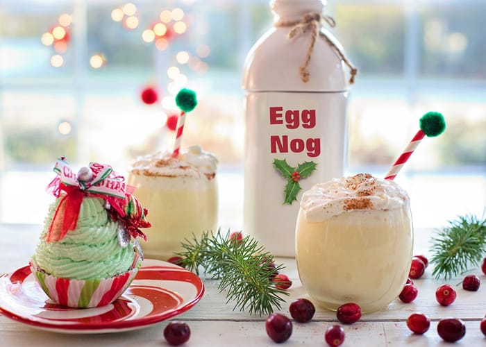 Eggnog & Christmas Themed Desserts