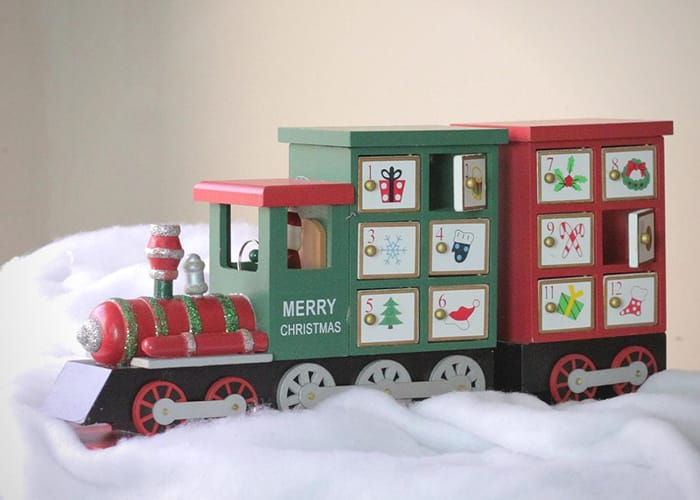 Christmas Themed Train Advent Calendar