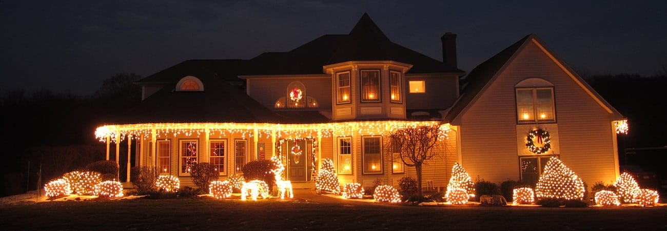Outdoor Christmas Display at Home