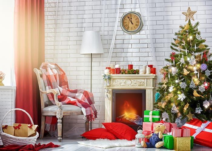 Christmas Decoration Display Indoors
