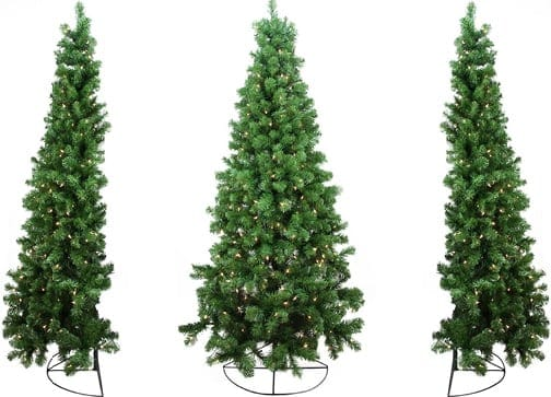 Artificial Christmas wall Trees