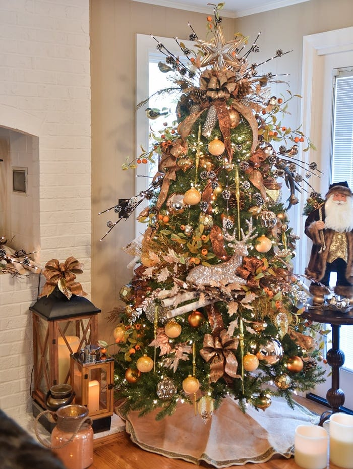 Indoor Artificial Christmas Tree Display