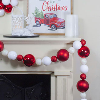 Shatterproof Ball Garland