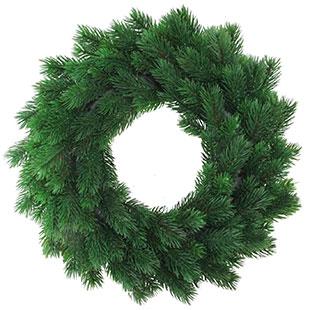 Unlit Wreaths