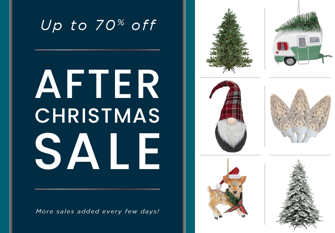Up to 70% off | After Christmas Sale | More sales added every few days!