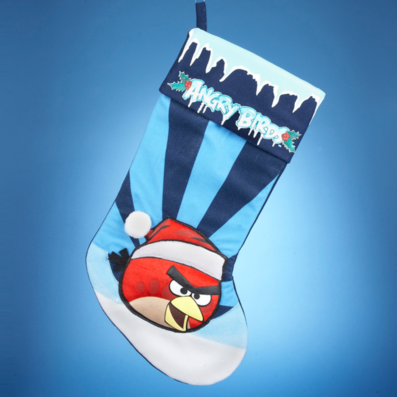 21 Blue Red Angry Bird Christmas Stocking Christmas Central