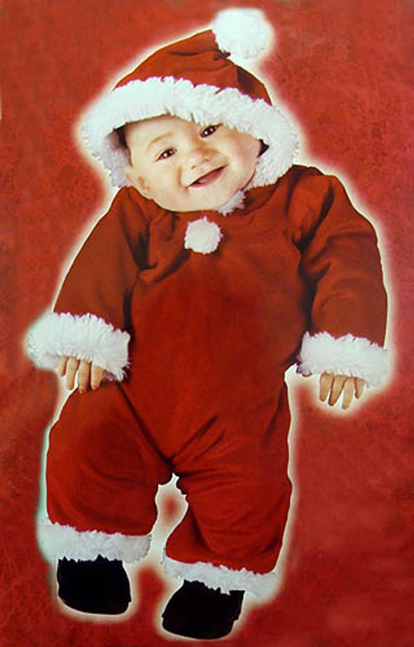 Christmas Santa/'s Little Helper Baby Infant//Toddler Costume