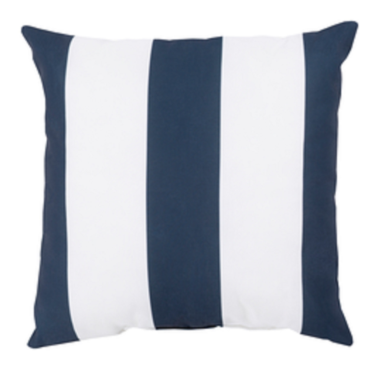 18 Navy Blue Ivory Beach Striped Decorative Pillow Shell Christmas Central
