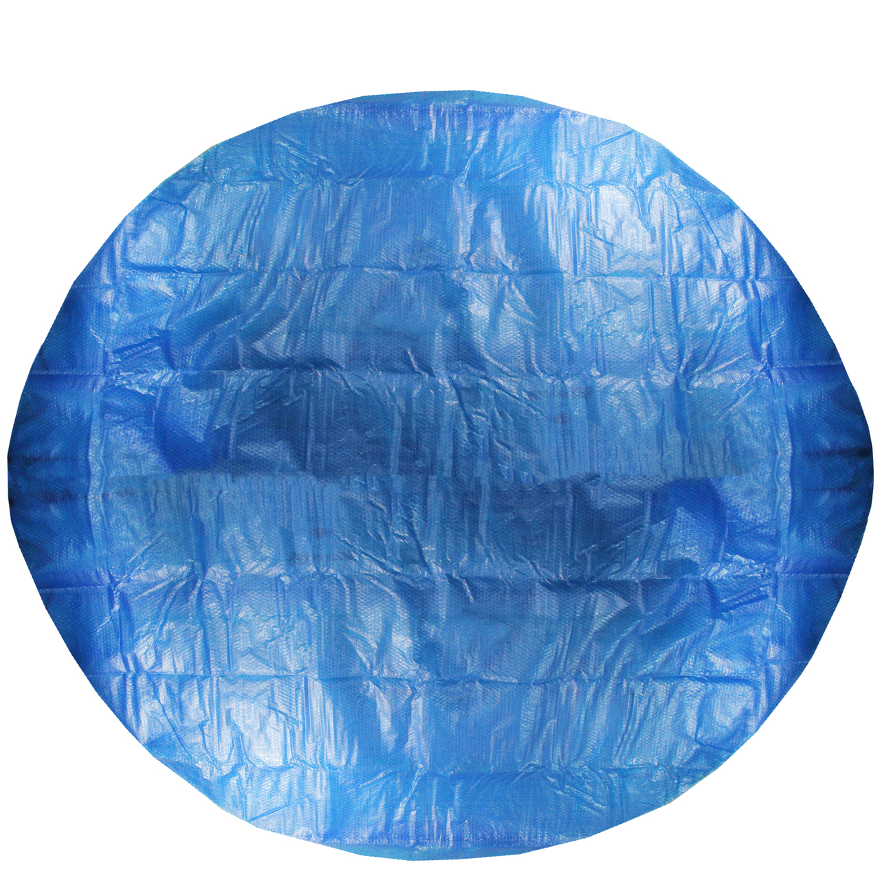 12\' Blue Round Floating Solar Prompt Set Swimming Pool Cover ...