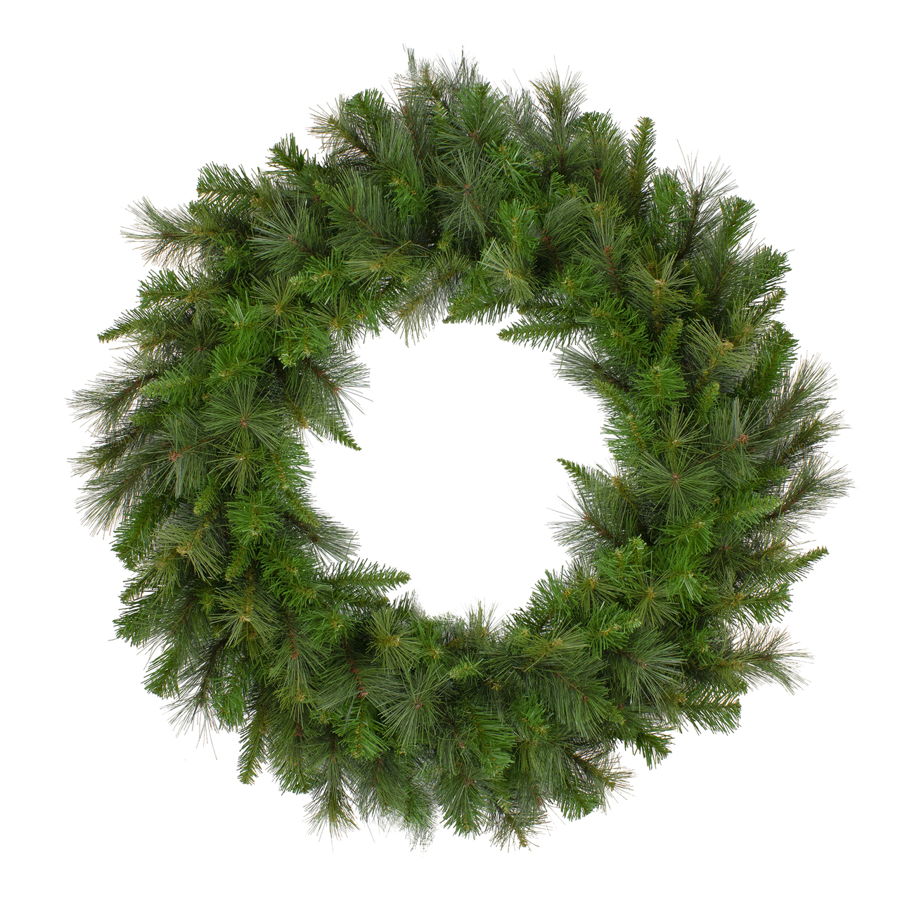 Canyon Pine Mixed Artificial Christmas Wreath 36 Inch Unlit Christmas Central